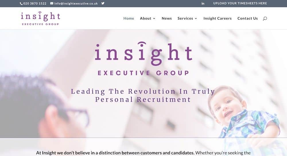 Insight Executive Group Homepage