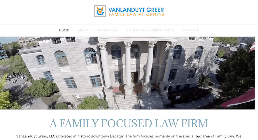 Vanlanduyt Law Homepage